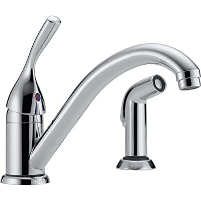 Delta Classic Single Handle Kitchen Faucet with Spray