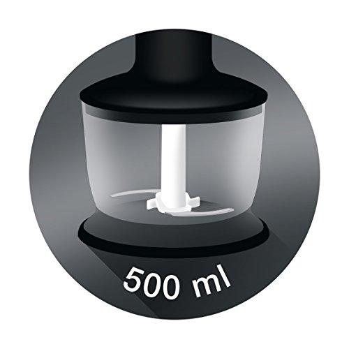 Braun MQ9037 Sauce+ Mixeur plongeant avec Variateur Noir 0,6 L 1000 W