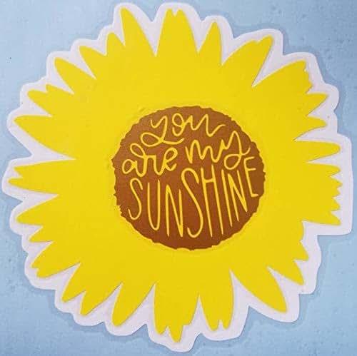 Amazon.com: You Are My Sunshine Sunflower Decal: Handmade