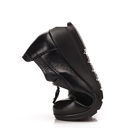 Madre zapatos para otoño/invierno/Medias y zapatos de las mujeres de edad/Zapatos de fondo suave para la tercera edad/Zapatos antideslizante A