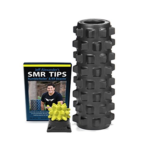 RumbleRoller Extra Firm Superset, Black by RumbleRoller