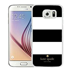 Newest Kate Spade Samsung Galaxy S6 Case ,Popular And Unique Designed Kate Spade Cover Case For Samsung Galaxy S6 White Phone Case 7