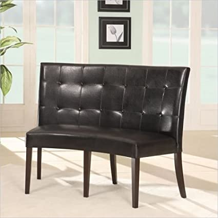 Amazon.com - Modus Furniture 2Y0266D Bossa Dining Height Banquette on commercial soft seating bench, modern leather bench, waiting bench, high back bench, entry bench, french country bench, built in breakfast bench, dining bench, settee bench, spring bench, diy breakfast nook bench, baxton studio bench,