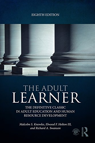 The Adult Tyro: The definitive classic in adult education and human resource development