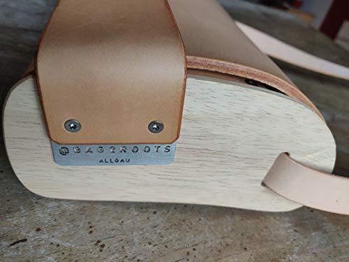 Pelle In Allgäu Cosack Borse Con E Hofsattlerei Miele Legno bag2roots Cuoio Realizzati Della 41gwTq