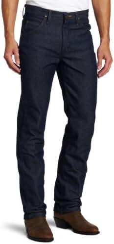 Wrangler Men's Tall Rigid Premium Performance Cowboy-Cut Slim-Fit Jean