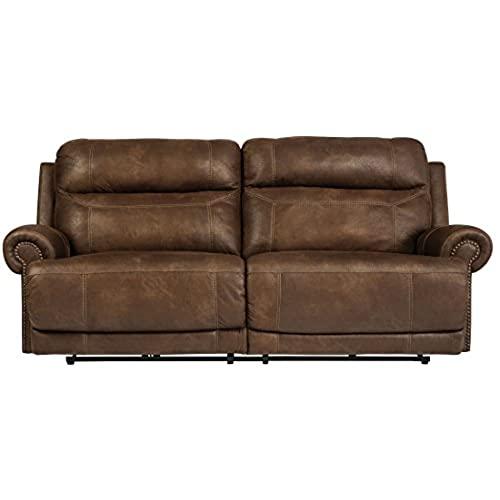 Nice Ashley Furniture Signature Design   Austere Recliner Sofa   Power Reclining  Love Seat   2 Seat   Brown