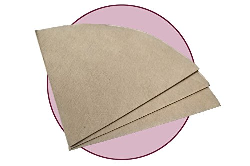 FOX PRIME Bonded Natural Pre-folded Circular