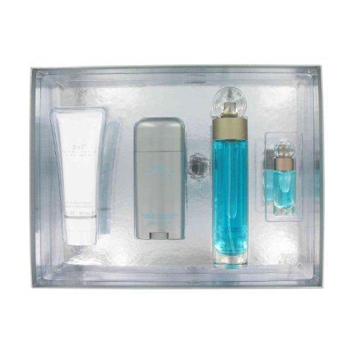 Gift Set — 3.4 oz Eau De Toilette Spray + 3 oz After Shave Balm + 2.75 oz Deodorant Stick + .25 oz Mini EDT Spray