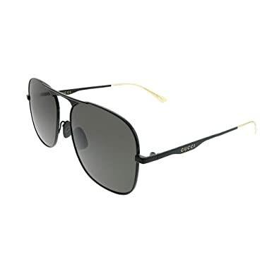 Amazon.com: Gucci GG0335S - Gafas de sol (2.283 in), color ...