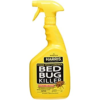 Amazoncom Harris Bed Bug Killer 32oz Spray Insect Repelling