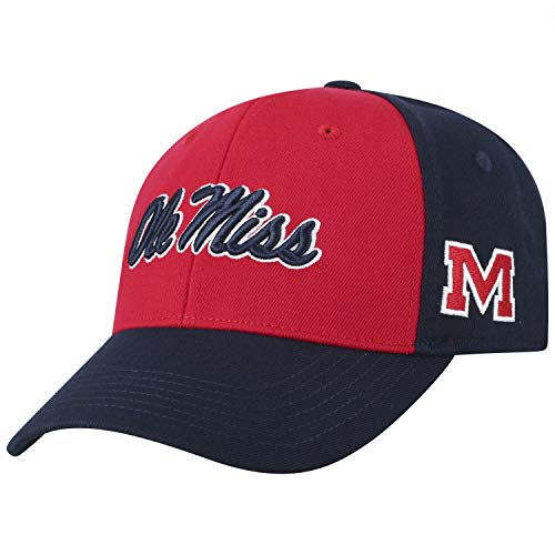 best sneakers 7101f f42b6 Mississippi Rebels Fitted Hats