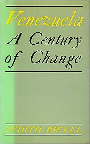 Venezuela a century of change judith ewell 9780804712132 amazon venezuela a century of change 1st edition fandeluxe Images