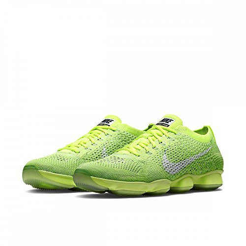 Nike Wmns Flyknit Zoom Agility, Zapatillas de Tenis para Mujer Verde - Volt/White-Electic Green-Vapor Gree