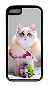 Distinct Waterproof A Lovely Cat Design Your Own iPhone 5c Case