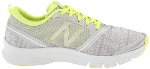 888098214253 - New Balance Women's 711 Heather Cross-Training Shoe,Grey/Yellow,11 D US carousel main 5