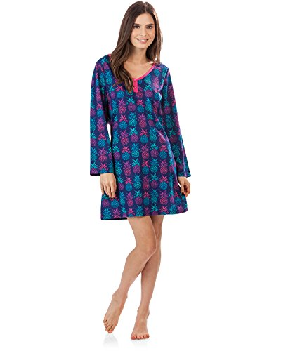 38 tone Jewel Camiseta Larga By Manga Bhpj Bedhead Pijama Pinapples De Henley v7qp8