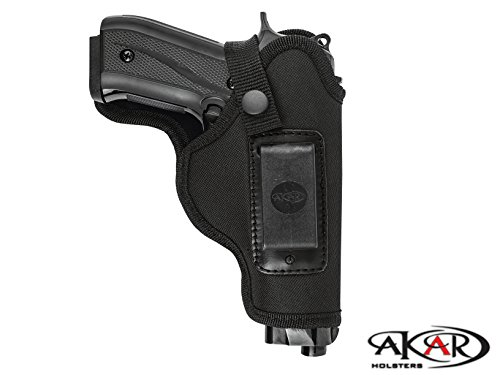 Akar Walther PPQ Nylon Right Hand IWB Conceal Carry or OWB Holster
