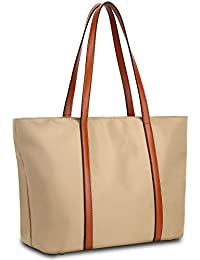 Women's Oxford Nylon Large Capacity Work Tote Shoulder Bag