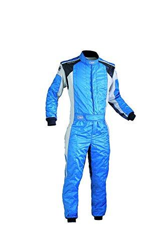 IA0184424362 Tecnica Evo Racing Suit, Sky Blue//White, Size 62 OMP