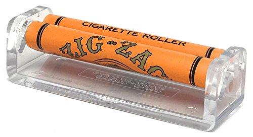 Zig Zag Organic Hemp Rolling Tray, Zig Zag Hemp 1 1/4 Rolling Papers (Full Box/24 Packs), Zig Zag Cigarette Maker and Leaf Lock Gear Smell Proof Tobacco Pouch by Zig Zag, Leaf Lock Gear (Image #1)