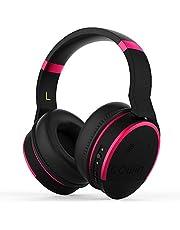 Cowin E8 Aktive Noise Cancelling Kopfhörer Bluetooth Kopfhörer mit Mikrofon Hi-Fi Deep Bass Drahtlose Kopfhörer Over-Ear Stereo Sound 20 Stunden Spielzeit für Reisen Arbeit TV Computer Phone