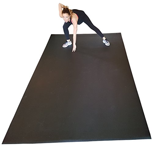 "Large Exercise Mat 6 Ft X 10 Ft (120"" X 72"" X 1/4"