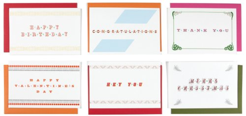 Lusty Letter - For Him 6-pack of Positively Naughty Greeting Cards (Vday For Him)