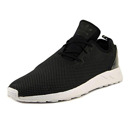 Black Flux Asymmetrical white Core Adv Sneakers Adidas Basse Originalszx OwfaaxCU