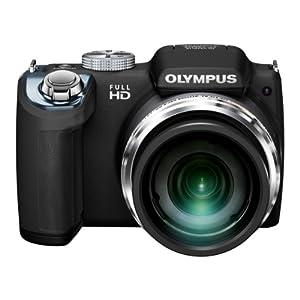 OLYMPUS デジタルカメラ SP-720UZ 1400万画素 光学26倍 SP-720UZ BLK