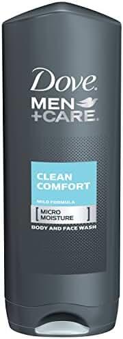 Dove Men+Care Body Wash, Clean Comfort 18 oz (Pack of 3)
