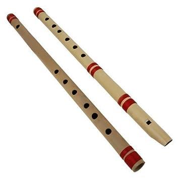 Indisches Bansuri Bambus Floten Set Beinhaltet 2 Floten
