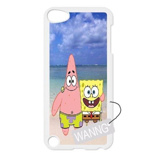 Spongebob And Patrick Ipod Touch5 Custom Case, Spongebob And Patrick DIY Case for Ipod Touch5 at WANNG