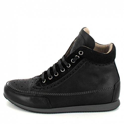 Candice Cooper Sneaker Alta Milena, Colore: Nero Nero