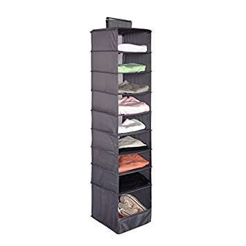 Superieur Lanscoe Clothes Storage Box 9 Shelf Hanging Shelves For Closet Cubby Sweater  Handbag Organizer And Accessories