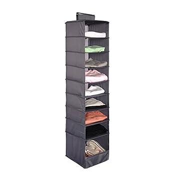 Lanscoe Clothes Storage Box 9 Shelf Hanging Shelves For Closet Cubby  Sweater Handbag Organizer And Accessories