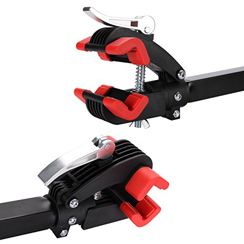 Gharpbik Workstands Bike Repair Stand Tool-Bike Wall Mount Bicycle Stand with Quick Release Adjustment Clamp Bicycle Stand Wall Mounted Foldable Maintenance for Garage or Home(Model:TQXL-06-I by Gharpbik (Image #5)