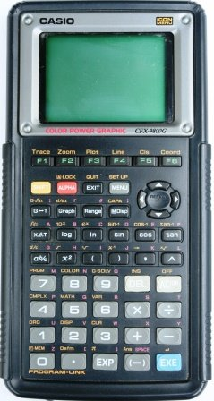 Casio CFX-9800G-w Color Graphing Calculator by Casio