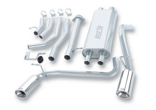 Hummer Exhaust System - Borla 140037 Cat-Back Exhaust System