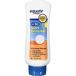 Equate Sport Lotion SPF 50, 8 fl oz