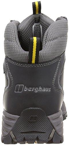Berghaus Expeditor AQ Leather 4-20935 - Botas de senderismo para hombre Black/Yel