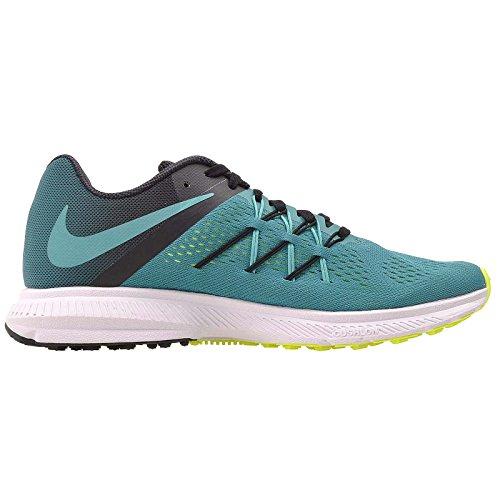Nike Zoom Winflo 3, Zapatillas de Running para hombre Rio Teal/Jade-black-volt