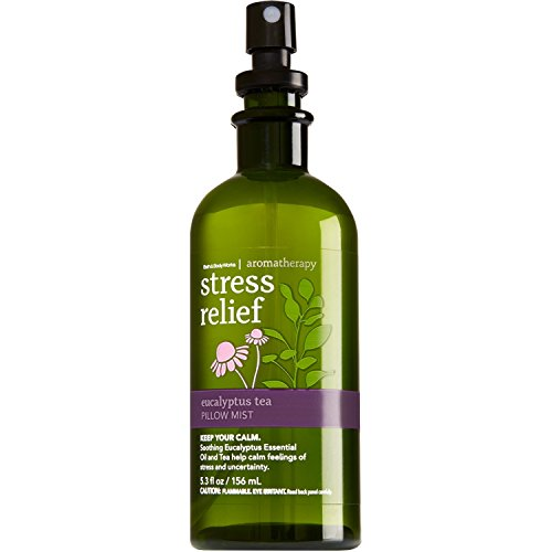 (Bath & Body Works Aromatherapy Focus - Eucalyptus & Tea Pillow Mist, 5.3 Fl Oz (Packaging May)