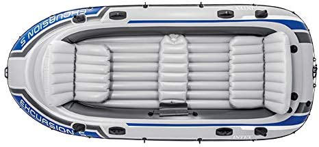 Intex Excursion 5 Person Boat Set