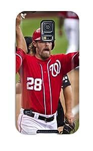 washington nationals MLB Sports & Colleges best Samsung Galaxy S5 cases 5087229K764704074