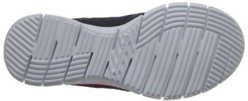 Skechers Sport Dames Lynx Mode Sneaker Marine / Koraal