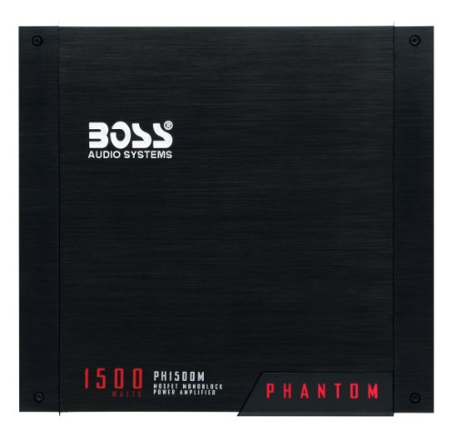 BOSS PH1500M 1500 Watt Monoblock Amplifier
