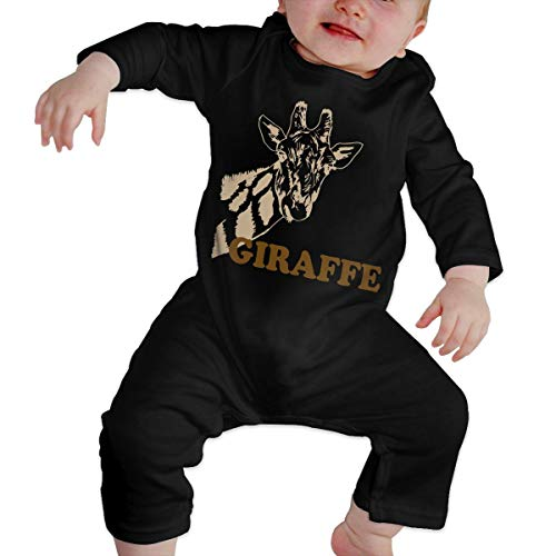 Crazy Popo Infant Baby Giraffe Cartoon Long Sleeve Romper Bodysuit Playsuit Outfits