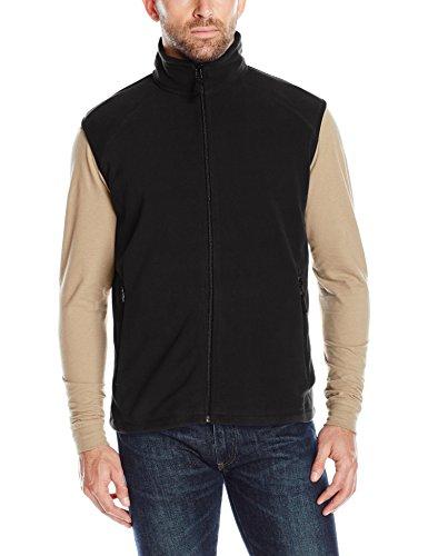 Clique Men's Summit Full-Zip Microfleece Vest, Black, Large Polyester Microfleece Vest