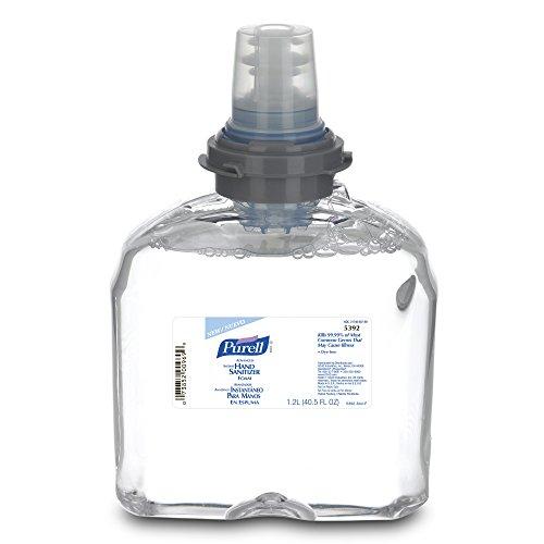 Purell 5392-02 Расширенный мгновенных дезинфицирующее средство для рук Пена, 1200 мл TFX Refill (на примере 2)